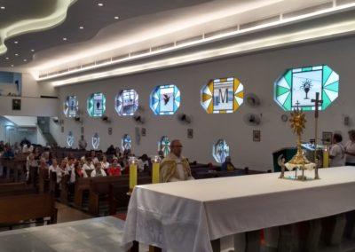 Terço da Misericórdia rezado diante de Jesus Sacramentado, às 15h no Santuário da Divina Misericórdia Rio de Janeiro Brasil