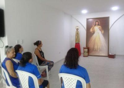Viviendo Chispa DM en Casa de la Misericordia Cucuta Colombia