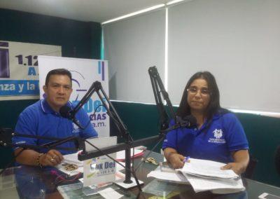 Viviendo Chispa DM en emisora Vox Dei diocesis de Cucuta Colombia