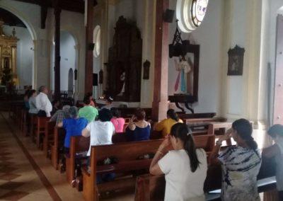Viviendo Chispa DM en parroqquia Inmaculada Concepción de Danli Honduras